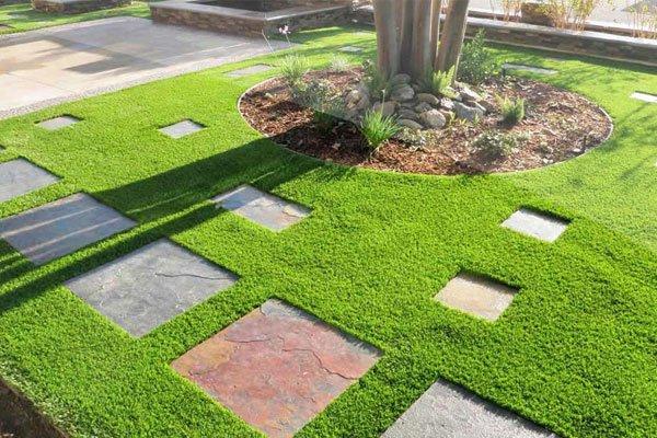 Cho thuê thảm cỏ nhân tạo sân vườn