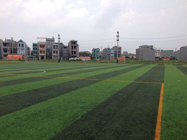 Thi công Sân bóng cỏ nhân tạo Bình Minh – Bắc Giang