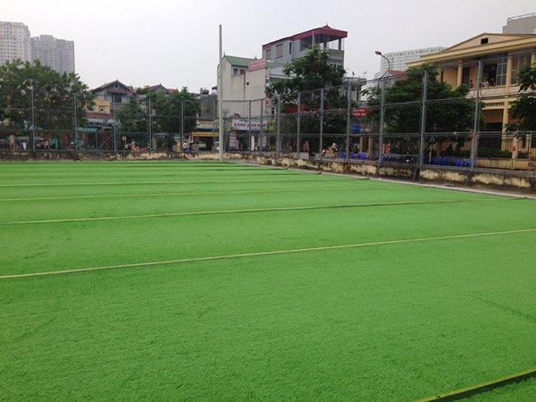 Dự án sân cỏ nhân tạo tại Mậu Lương - Hà Đông - Hà Nội