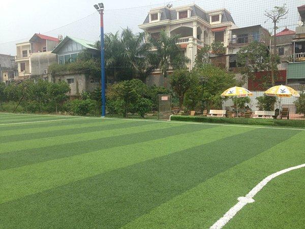 Thi công Sân bóng cỏ nhân tạo Phương Nam Phủ Lỗ Hà Nội