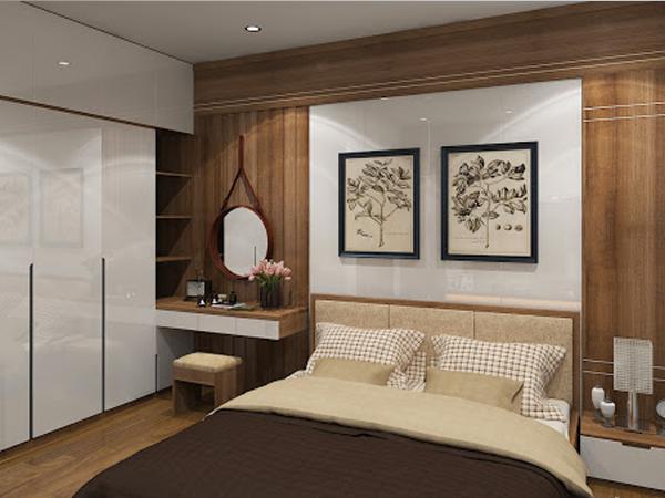 mẫu thiết kế phòng ngủ lịch sự