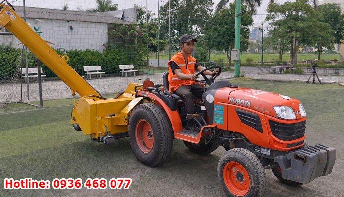 Bảo dưỡng cỏ nhân tạo tại Bắc Ninh