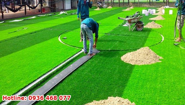 Bảo dưỡng cỏ nhân tạo tại Hải Dương
