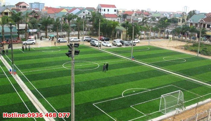 Bảo dưỡng cỏ nhân tạo tại Huế