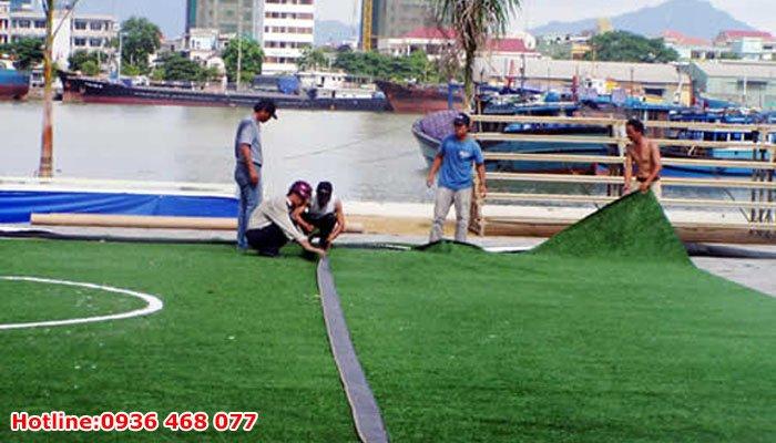 Bảo dưỡng cỏ nhân tạo tại Thái Bình
