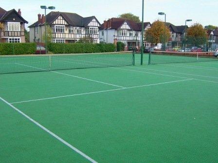 sân thảm tennis