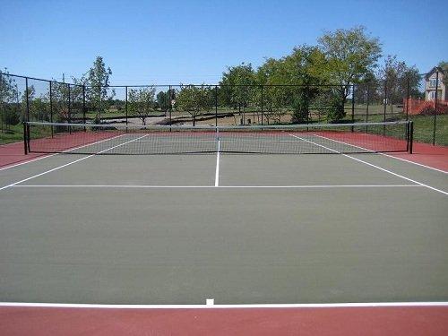 sân cứng tennis