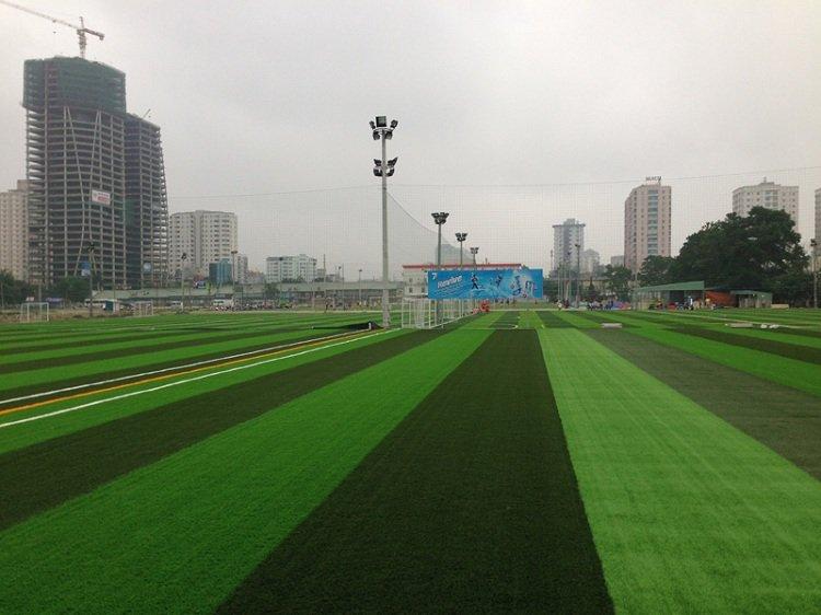 Thi công sân cỏ nhân tạo trên toàn quốc