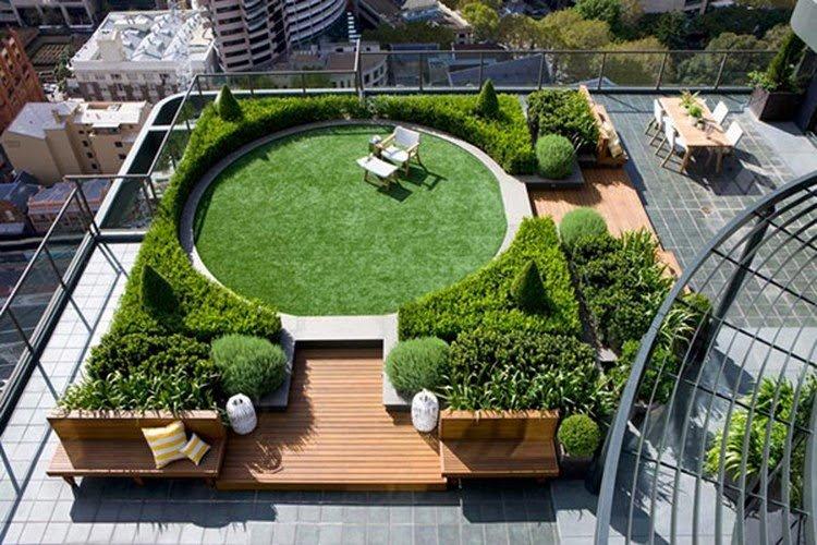 Giá cỏ nhân tạo sân vườn