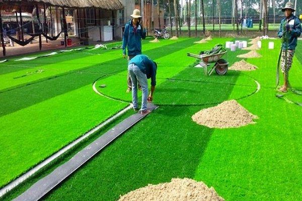 Giá làm cỏ nhân tạo