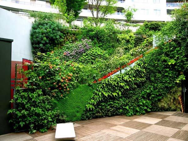 Mẫu thiết kế sân vườn đẹp dành cho diện tích nhỏ
