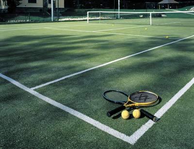 Tìm hiểu sân tennis cỏ nhân tạo