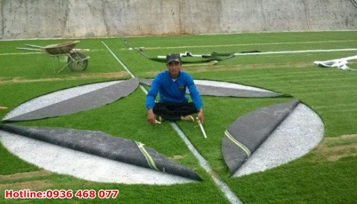 Thi công cỏ nhân tạo tại Huế