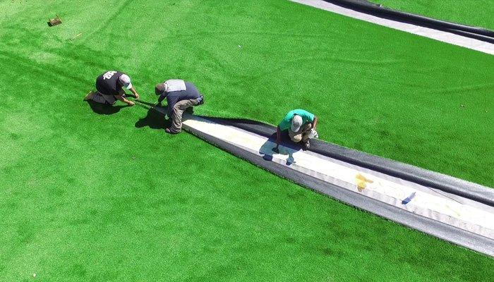Thi công cỏ nhân tạo tại Lâm Đồng