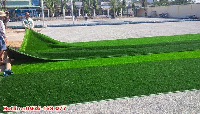 Thi công cỏ nhân tạo tại Phú Thọ