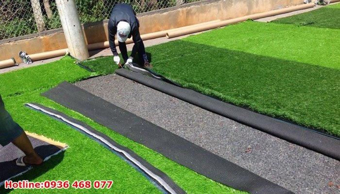 Thi công cỏ nhân tạo tại Thanh Hóa