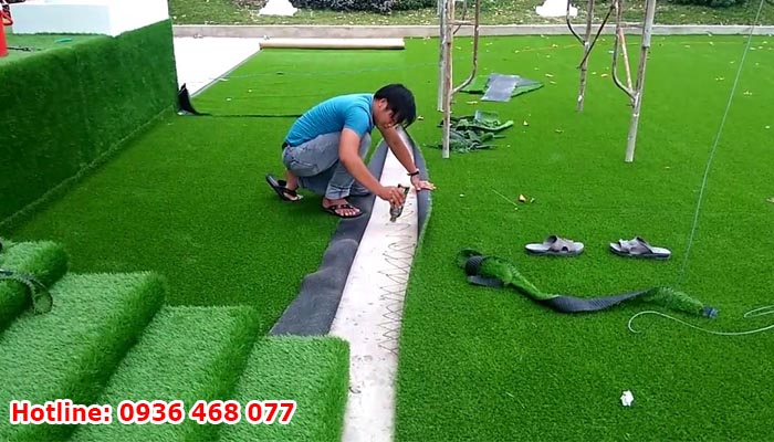 thi công cỏ nhân tạo tại Vũng Tàu