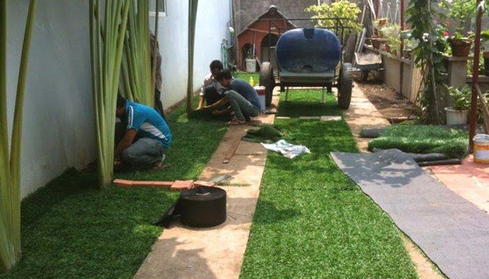 thi công cỏ nhân tạo tại yên bái