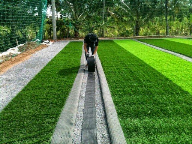 Dịch vụ thi công sân cỏ nhân tạo