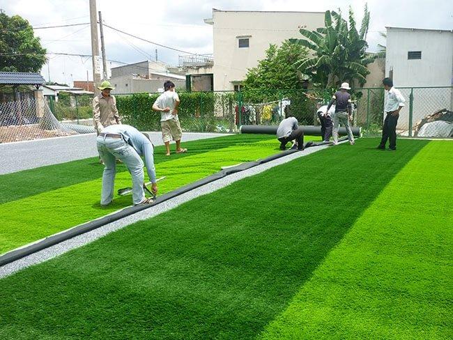 cung cấp thi công sân cỏ nhân tạo