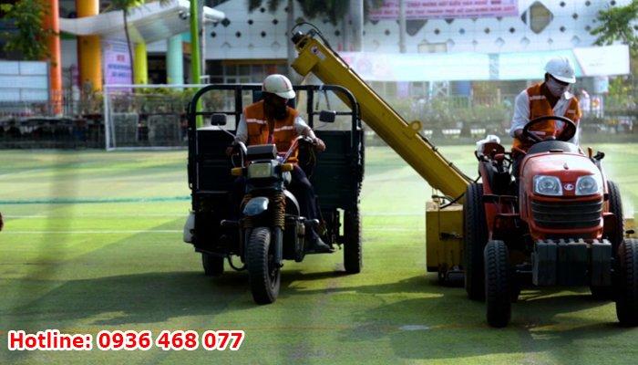 thi công cỏ nhân tạo tại Lào Cai