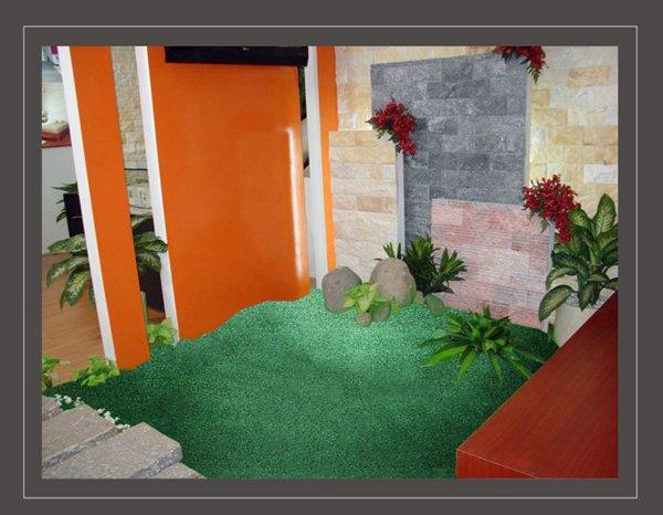 cỏ nhân tạo trong nhà