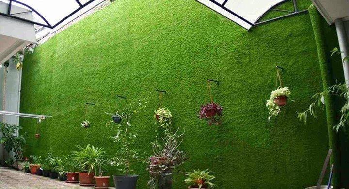 tường cỏ nhân tạo