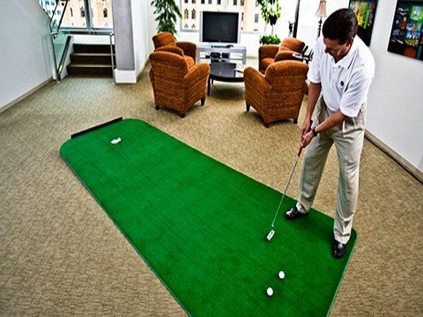 Sân golf mini không đòi hỏi nhiều diện tích