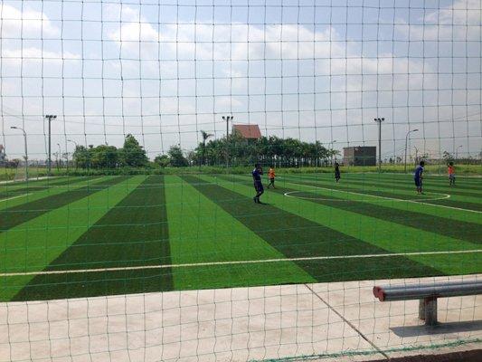 Sân bóng cỏ nhân tạo HV An Ninh