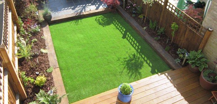 Lời khuyên cho thi công cỏ nhân tạo sân vườn