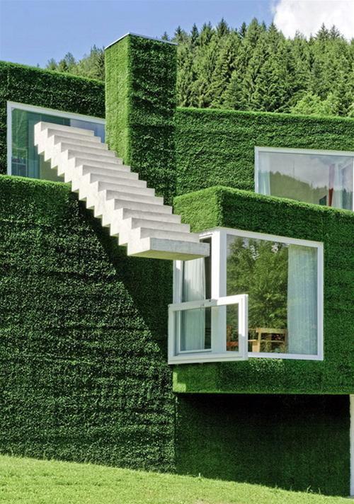 Cỏ nhân tạo thay đổi diện mạo cho ngôi nhà bạn.