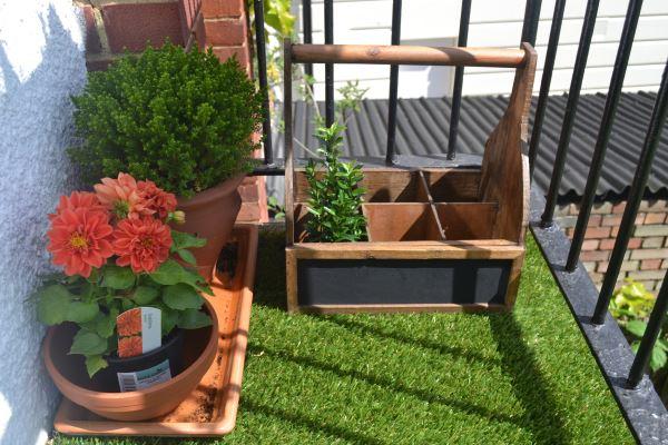 cỏ nhân tạo trang trí