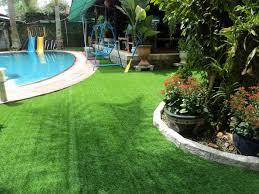 Ưu điểm cỏ nhân tạo sân vườn